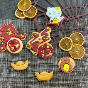 bánh cookies đồng tiền