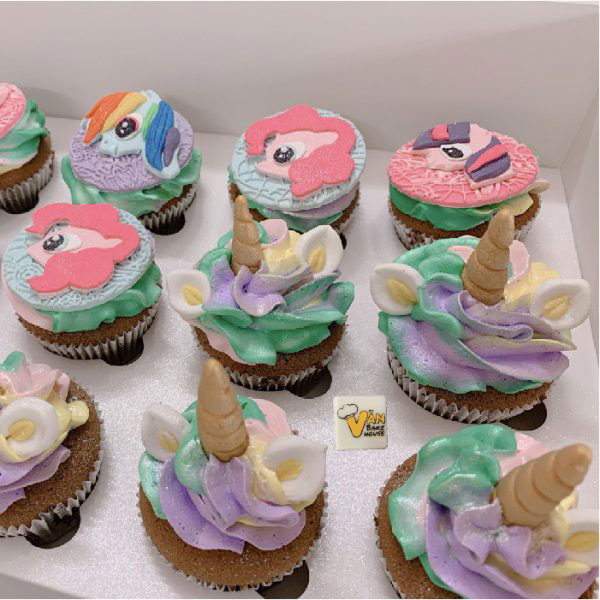 bánh cupcake ngộ nghĩnh đáng yêu tại Vanbakehouse.com