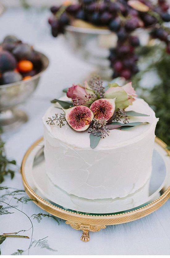 bánh kem cưới 1 tầng